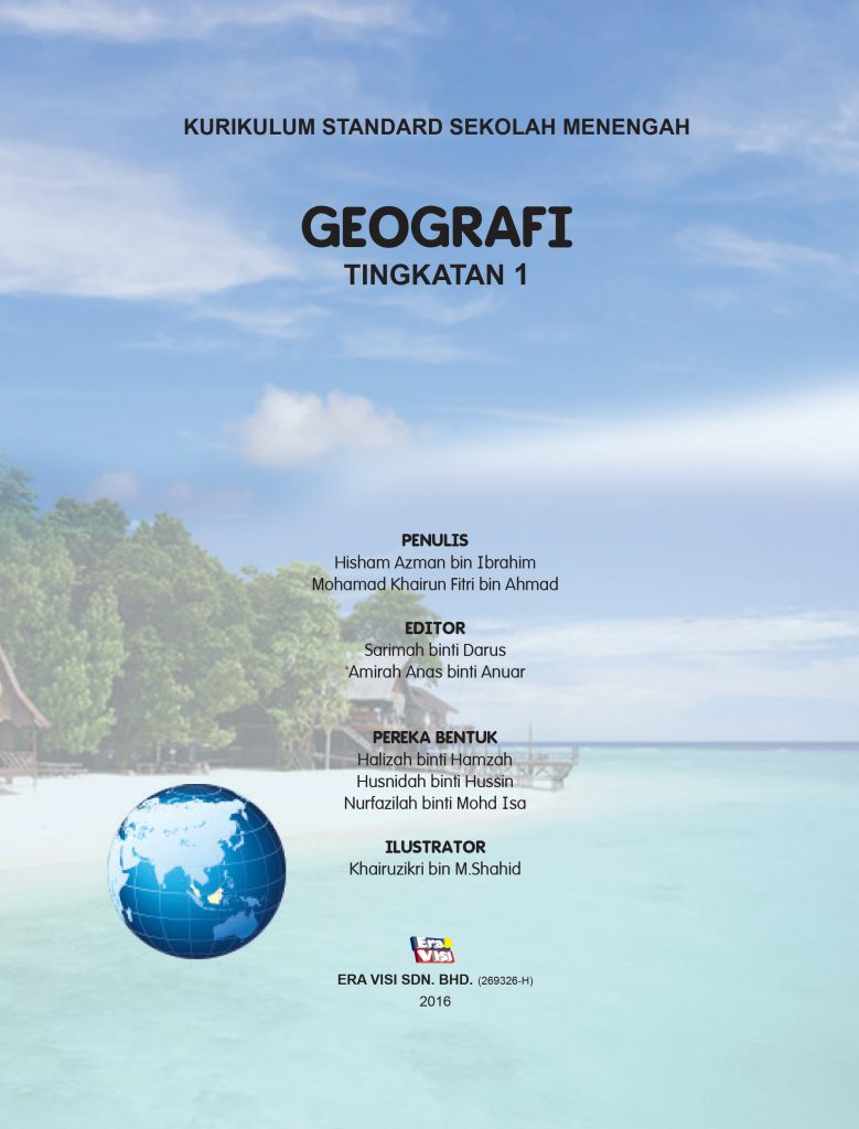 Geografi Tingkatan 1 Buku Teks